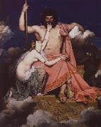 Jean-Auguste-Dominique Ingres jupiter och thetis oil painting
